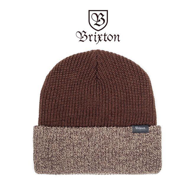 brixton ブリクストン ビーニー ニット帽 ニットキャップ 通販 BARRETT BEANIE ブラウン