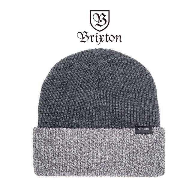 brixton ブリクストン ビーニー ニット帽 ニットキャップ 通販 BARRETT BEANIE グレイ
