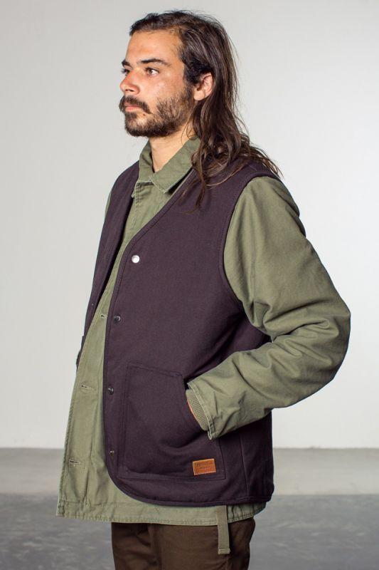 brixton ブリクストン ジャケット ベスト アウター コットン 通販 ブランド 取扱店 ストライプ ANCHOR VEST