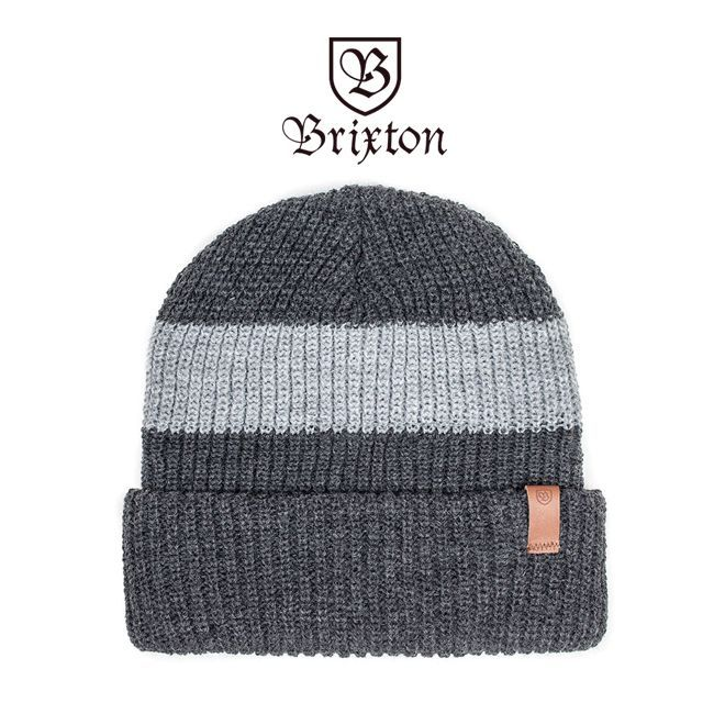 brixton ブリクストン ビーニー ニット帽 ニットキャップ 通販 SEGOVIA  BEANIE グレイ