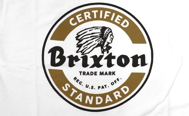 brixton ブリクストン Tシャツ tee 通販 ブランド 取扱店 SOTO  白 ホワイト