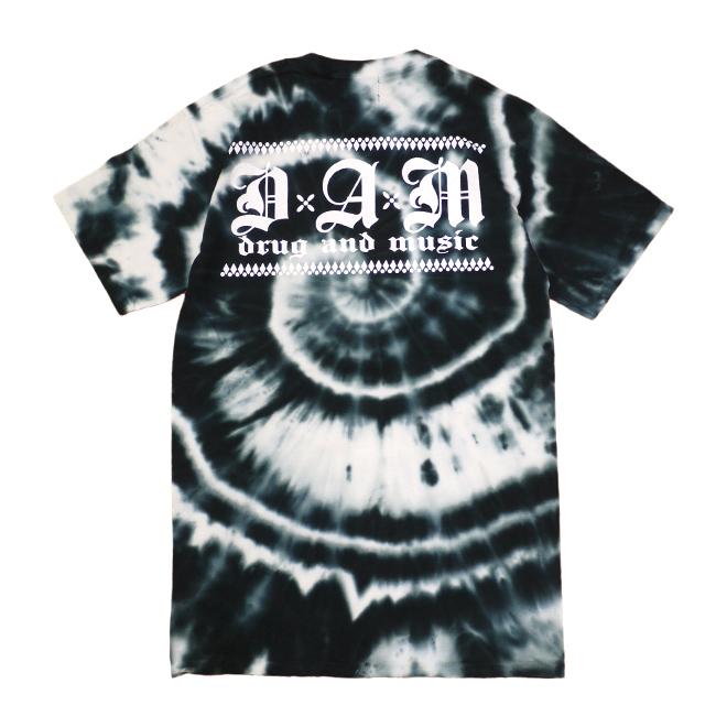 dxaxm tシャツ drug and music タイダイ染め klassic 通販