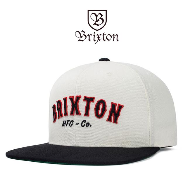 brixton ブリクストン キャップ 帽子 スナップバック white HAROLD SNAPBACK  通販