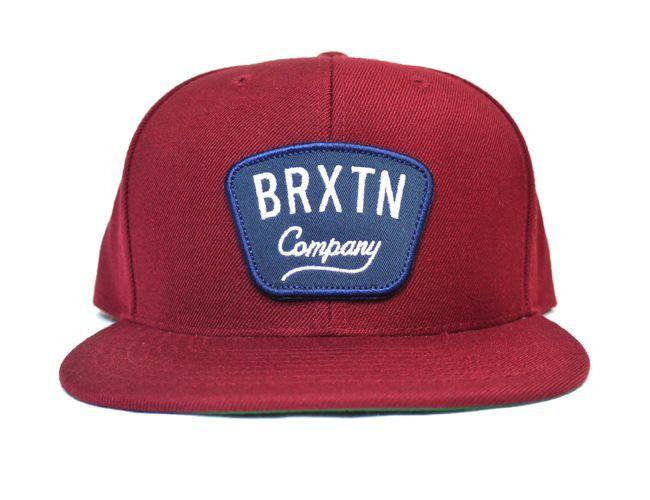 brixton ブリクストン キャップ 帽子 スナップバック バーガンディ GASTON SNAPBACK  通販