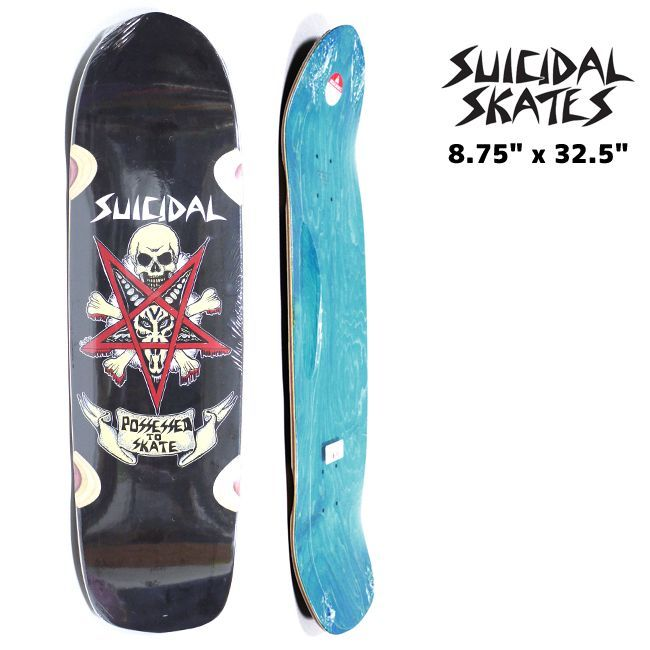 SUICIDAL DOGTOWN スケートボード スケボー デッキ 通販 Suicidal tendencies skate  Possessed to Skate
