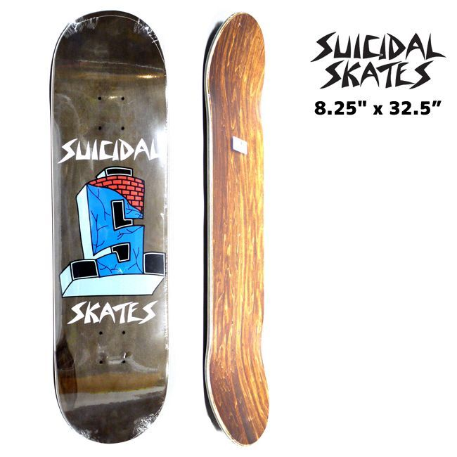 SUICIDAL DOGTOWN スケートボード スケボー デッキ 通販 Suicidal tendencies skate  cross logo
