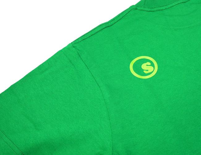 seedless シードレス Tシャツ 半袖 アパレル スケートブランド 取扱店 通販 coop ロゴ 通販  グリーン 緑