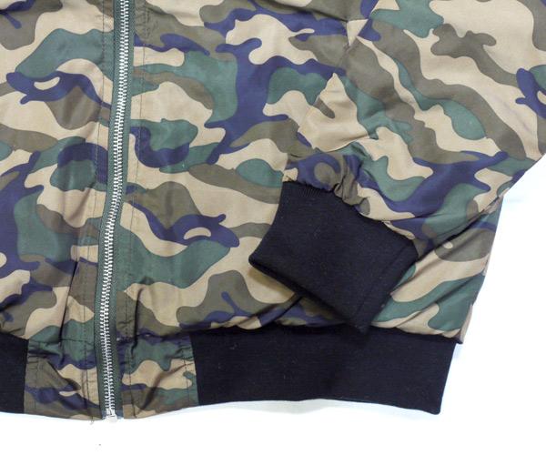 ZIP UP QUILTED JKT seedless シードレス ジャケット スタジャン MA-1 キルティング ダウンジャケット アウター アパレル 取扱店   カモフラ