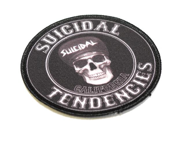 suicidal tendencies ワッペン パッチ ロゴ 通販 スイサイダルテンデンシーズ CALIFORNIA PATCH