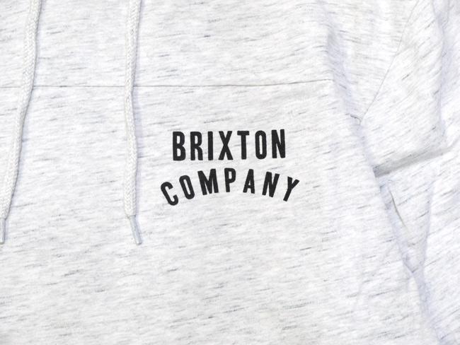 brixton ブリクストン スウェット パーカー 薄手 通販 ブランド 取扱店 WOODBURN L/S HOOD KNIT