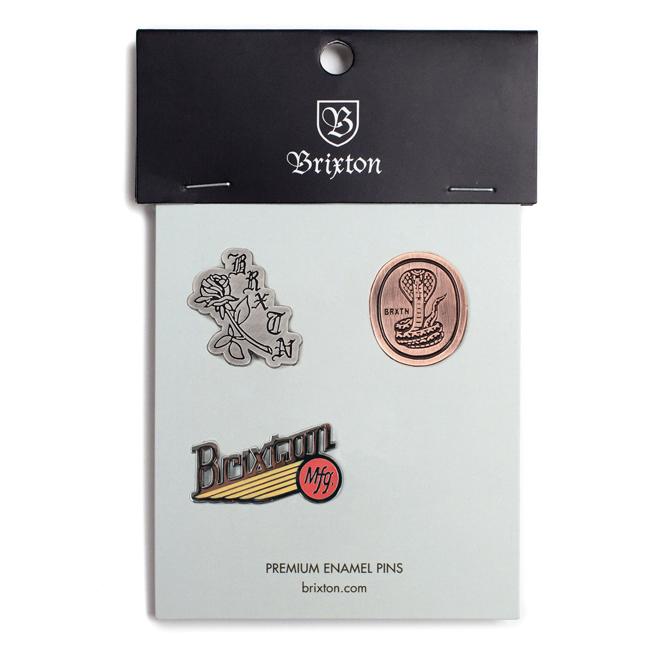 brixton ブリクストン 雑貨 ピンズ 通販 FURY PIN PACK