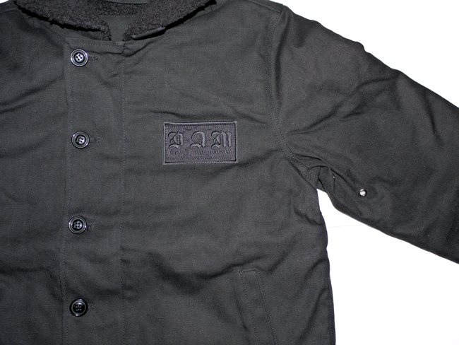 DxAxM ジャケット アウター N1 N-1 ダックジャケット ブラック
