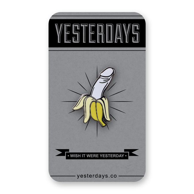 Dick Banana バナナ ピンバッジ イェスタデイズ ピンズ 通販 yesterdays
