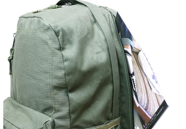 BELLOWS BACKPACK Brixton ブリクストン バックパック リュック リュックサック カバン  backpack オリーブ グリーン ストリートブランド スケートブランド シンプル ミリタリー 取扱店