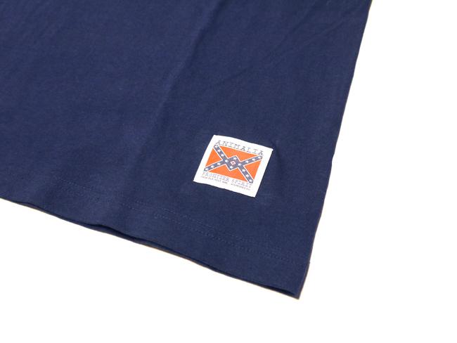 アニマリア animalia Tシャツ NEON SIGN ネオン ブラック 通販 取扱店 ネイビー