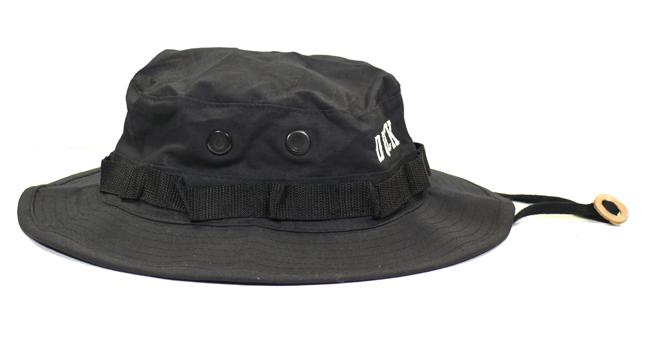 ANIMALIA アニマリア ADVENTURE HAT キャンプハット バケットハット 紐付き 通販 ブラック 黒 ミリタリー
