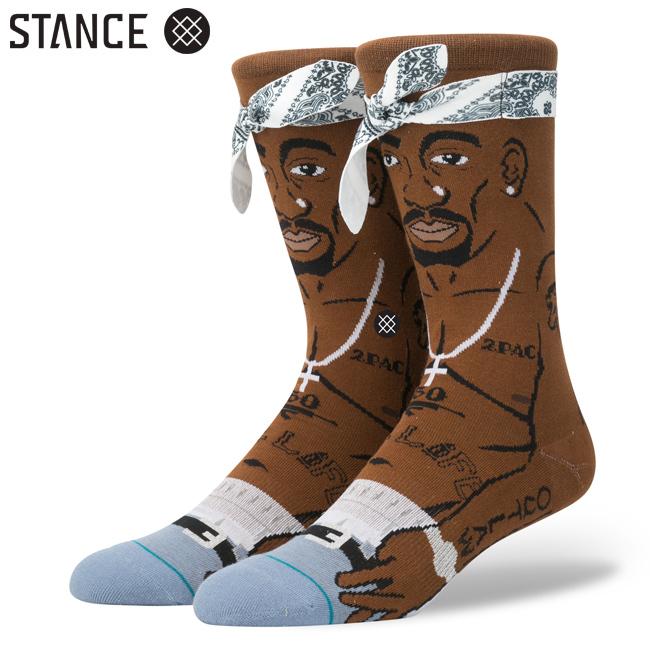 2PAC ラッパー コラボ STANCE スタンス ソックス 靴下 通販 メンズ ファッション