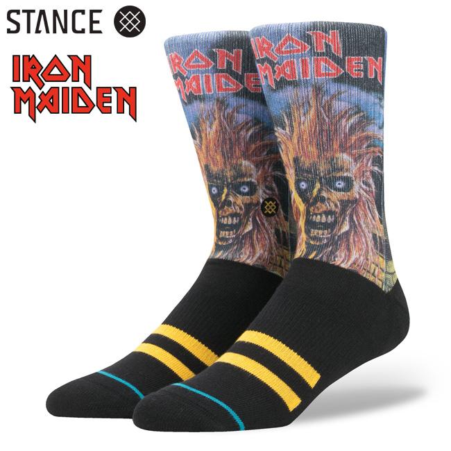 IRON MAIDEN アイアンメイデン メタルバンド コラボ STANCE スタンス ソックス 靴下 通販 メンズ ファッション