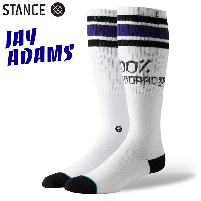 100 PERCENT SKATE STANCE  SOCKS スタンスソックス JAY ADAMS ジェイアダムス 100%skateboarder 通販 靴下 スケーターソックス