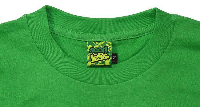 seedless  シードレス SiM  MAH デザイン Tシャツ LIVE FAST SMOKE DEEP グリーン 緑 通販