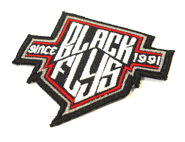 FLY SHIELD PATCH BLACK FLYS  ブラックフライズ ブラックフライ ワッペン パッチ 通販
