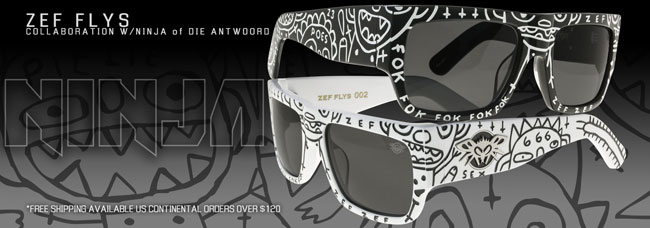 BLACK FLYS Die Antwoord ブラックフライズ NINJA HIPHOP ラッパー 南アフリカ コラボ 通販