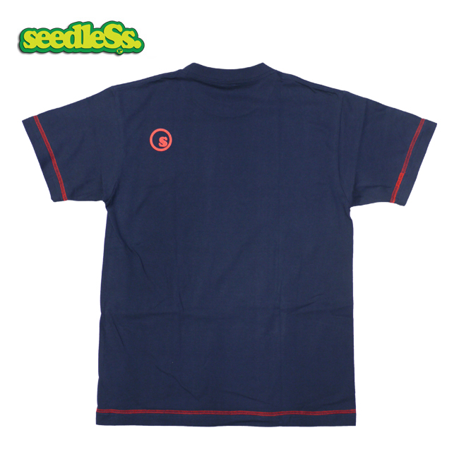 ROCK! Stitch seedless シードレス Tシャツ 半袖 スティッチ ブラック ヘイスミス ロック系 ブランド 通販