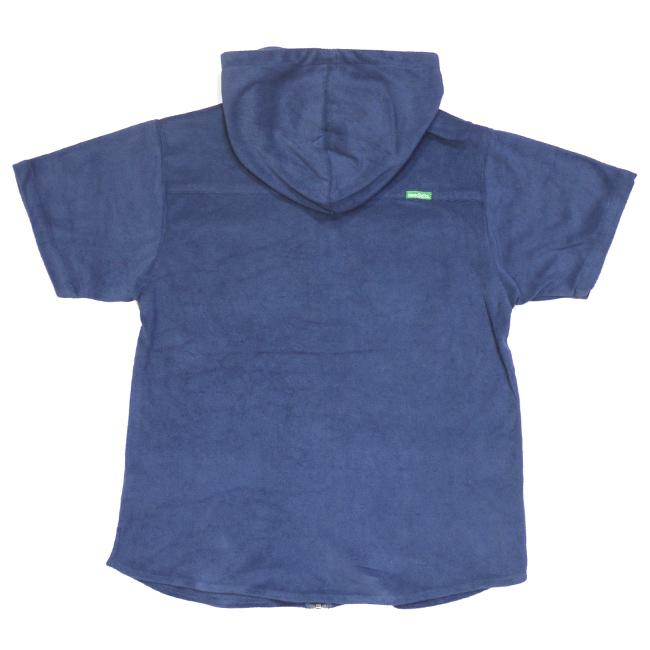 seedless シードレス ブランド アパレル シャツ ジップアップ フーディ メンズ パイル生地 ブルー 取扱店 通販