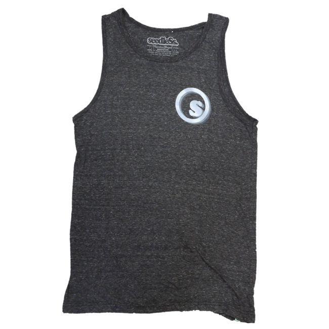 seedless シードレス タンクトップ GOOD VIBES ONLYS   通販 ヘザーブラック  ブランド メンズ 服  アメリカ USA