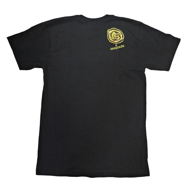 seedless シードレス Tシャツ SASQUASH FIST   通販 ブラック  ブランド メンズ 服