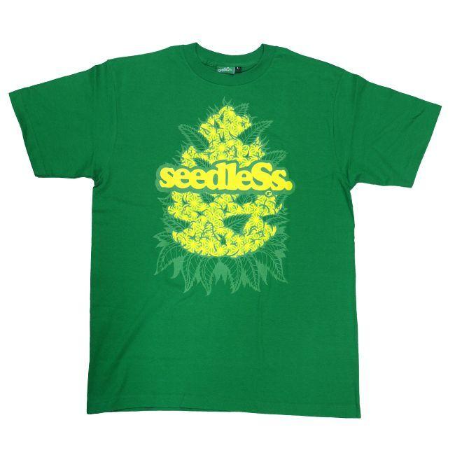 seedless シードレス Tシャツ budz ins   通販 ブラック  ブランド メンズ 服