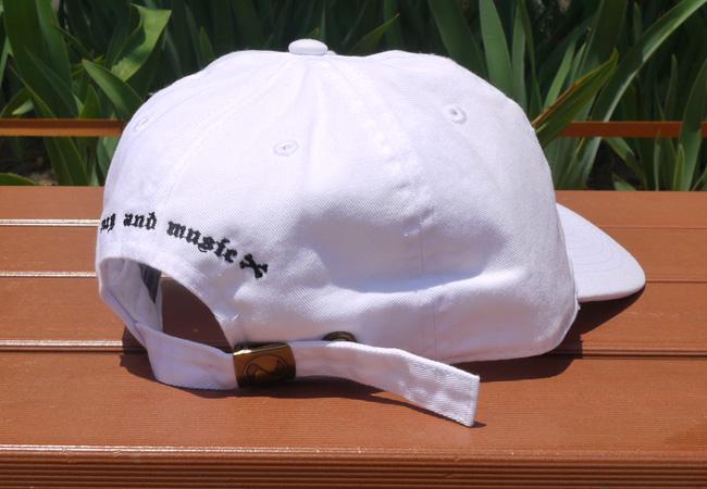 DxAxM DOG 犬 ダム キャップ 6パネル キャップ 通販 ホワイト