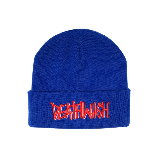 DEATHWISH  skateboard デスウィッシュ スケートボード ブランド スケボー 服 アパレル ニット帽 ビーニー ロゴ 通販 LANDMARK