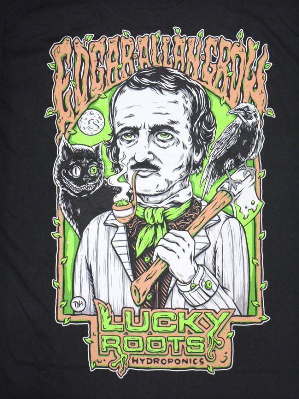シードレス 通販 服 seedless ブランド EDGAR MENS TEE Tシャツ メンズ ブラック Tシャツ weed bird