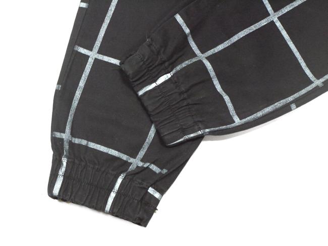 neo blue   jogger pants  ジョガーパンツ サルエルパンツ チェック ブランド メンズ ジーンズ
