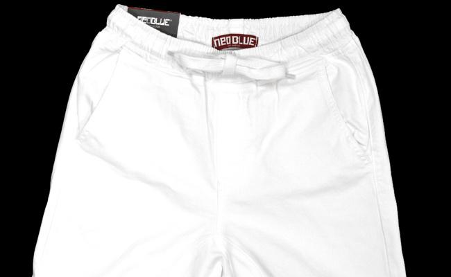 NEO BLUE jogger pants ジョガーパンツ サルエル 7612 White Twill Jogger Pants 通販