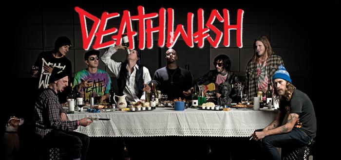 DEATHWISH SKATES 通販サイトトップ画像