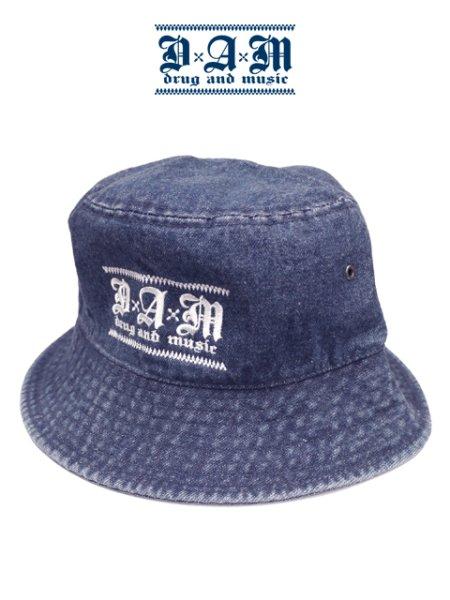画像1: [DxAxM]-KLASSiC BUCKET HAT-DENIM BLUE- (1)