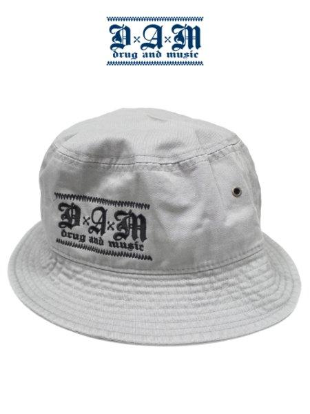 画像1: [DxAxM]-KLASSiC BUCKET HAT-GREY- (1)