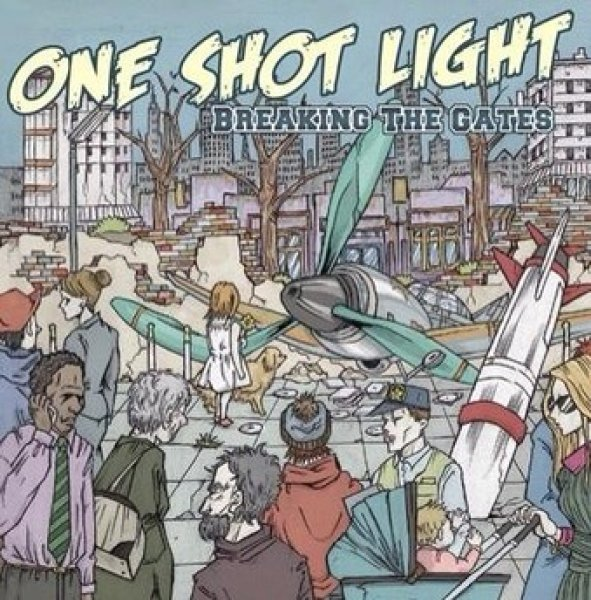 画像1: [ONE SHOT LIGHT]-1st DEMO CD-『BREAKING THE GATES』 (1)