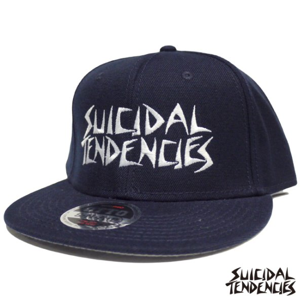 画像1: [SUICIDAL TENDENCIES]-SNAP BACK-NAVY- (1)