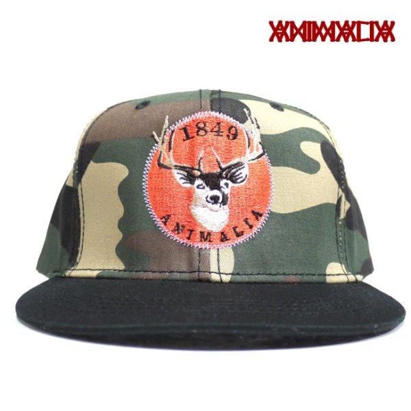画像1: [ANIMALIA]-Deer Cotton Cap-CAMO- (1)