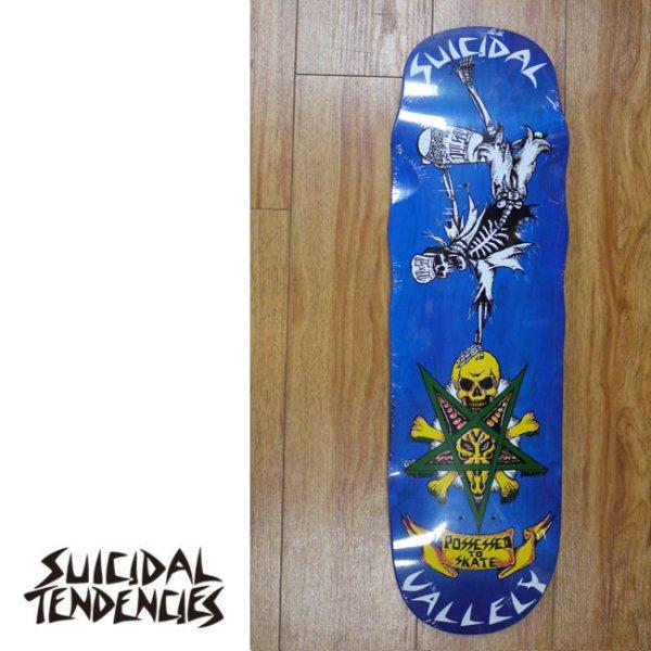 画像1: [SUICIDAL TENDENCIES]-Mike Vallely Collaboration Deck-POOL- (1)