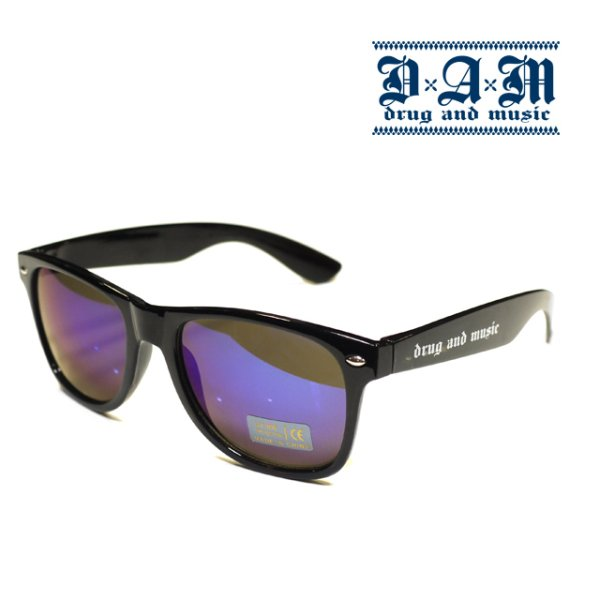 画像1: [DxAxM]-CROSS TOY SUNGLASSES-BLU MIRROR- (1)