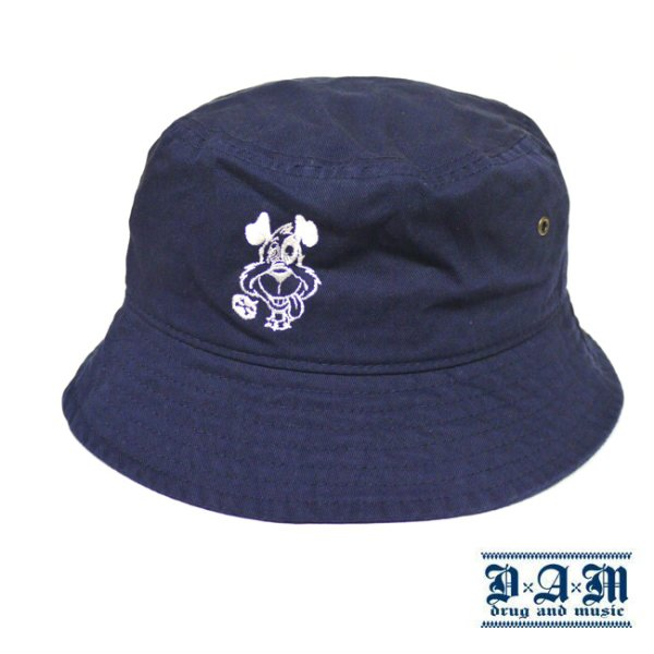 画像1: [DxAxM]-DOG BUCKET HAT-NAV- (1)