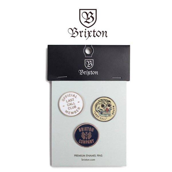 画像1: [Brixton]-LAST CALL PIN PACK- (1)