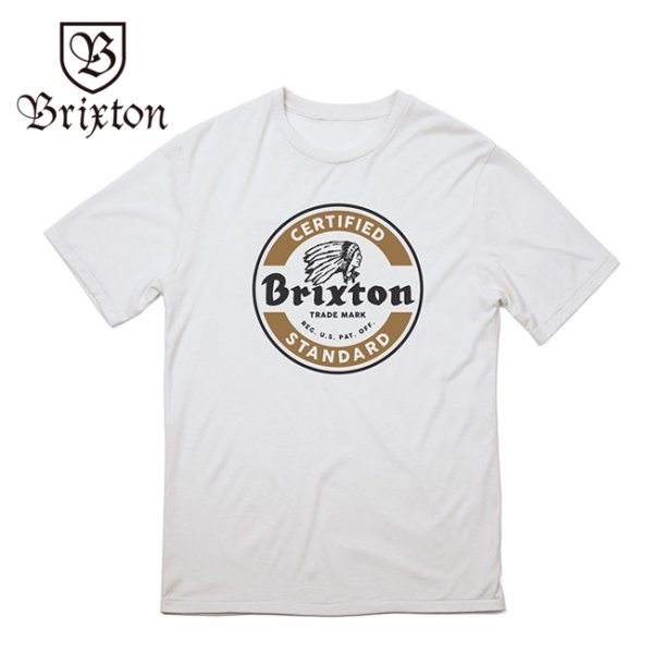 画像1: [Brixton]-Tシャツ-SOTO S/S STANDARD TEE-WHT- (1)