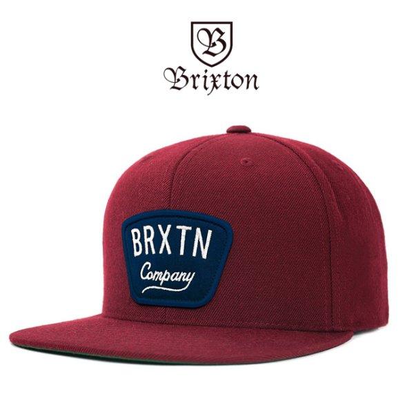 画像1: [Brixton]-GASTON SNAPBACK-BGD- (1)