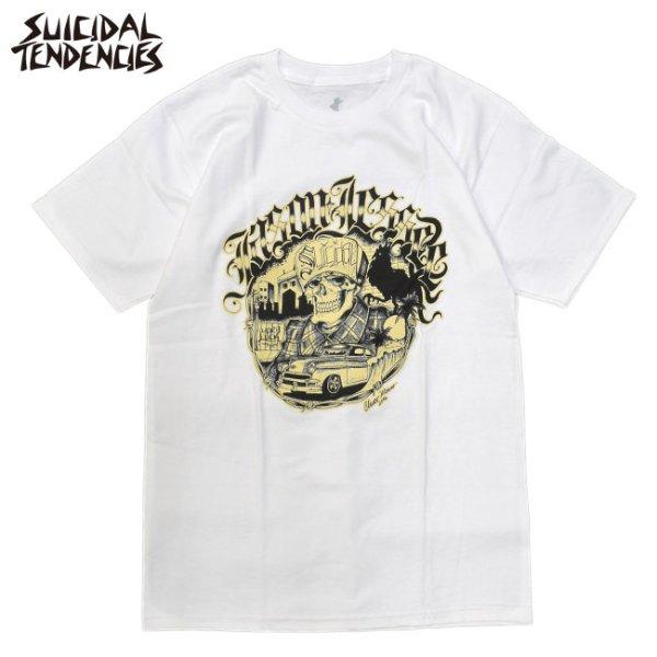 画像1: [SUICIDAL TENDENCIES]-Suicidal T-Shirt Jason Jessee-WHT- (1)