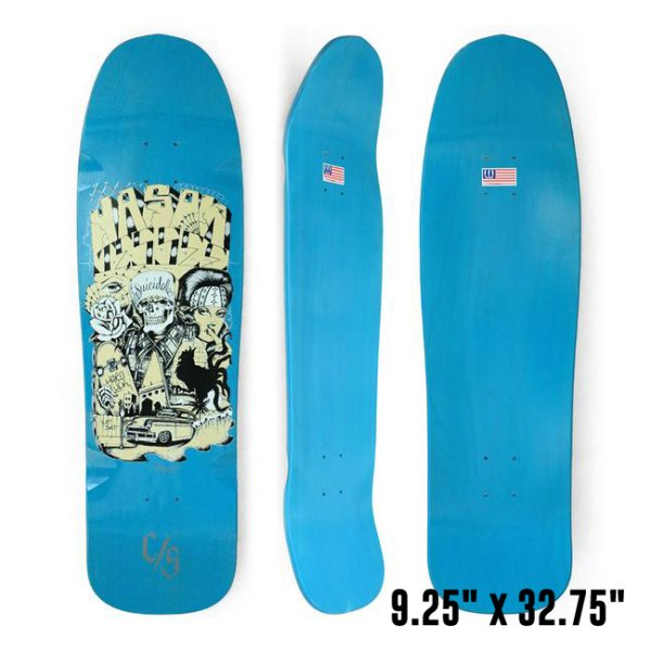 "画像1: [SUICIDAL TENDENCIES]-Suicidal Pool Series Jason Jessee Guest Skateboard Deck 9.25"" x 32.75""- (1)"
